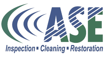ase carpet cleaning water damage restoration logo