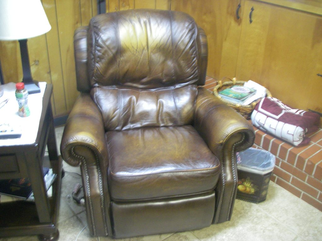 leather upholstery restore